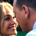 Jennifer Lopez & Alex Rodriguez Channeled 'Dirty Dancing' On V-Day