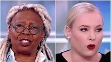 Viewers Pull Out The Popcorn As Whoopi Goldberg Goes Full Boss On Meghan McCain