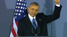 Obama: 'This has been the privilege of my life'