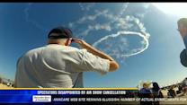 Spectators disappointed by air show cancellation