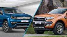 Aliança Volkswagen e Ford: novas Ranger e Amarok vão dividir plataforma