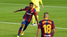 Tras liderar al Barça frente al Villarreal, Ansu Fati agradece a Messi sus consejos