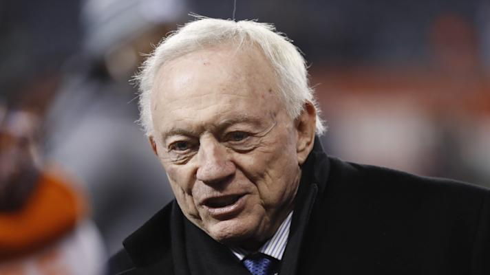 How would Jerry Jones handle players kneeling?