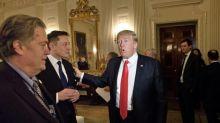 Donald Trump says Elon Musk 'does good at rockets'
