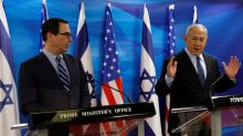 U.S. Treasury's Mnuchin hails Israel investment opportunities, eyes infrastructure