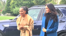 Meghan Markle shows support for friend Misha Nonoo's fashion line at Kensington Palace book launch