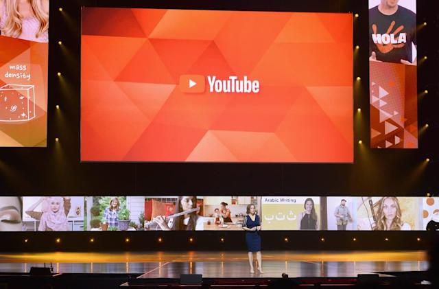 YouTube gets 1.8 billion logged-in viewers monthly