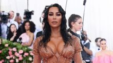 Kim Kardashian Is 'Wet, Dripping' at the Met Gala in Mugler Dress that Took 8 Months to Make