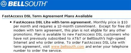 AT&T surreptitiously adds $10 DSL plan