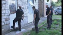 Immigration enforcement officers launch early morning raid