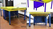 Filipino experts develop quake-proof desks for kindergarten students