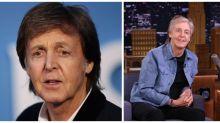 Grey-Tripper: Fans are loving Sir Paul McCartney's new grey hair look