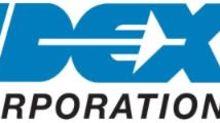 IDEX Corporation Declares Regular Quarterly Cash Dividend