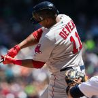 Watch: Red Sox Rookie Rafael Devers Hits Home Run For First Career Hit