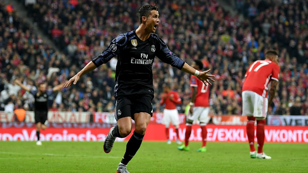 Bayern Munich 1 Real Madrid 2: Ronaldo double gives Zidane's men the edge