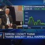 Jamie Dimon says a hard Brexit would be a 'disaster' for the UK