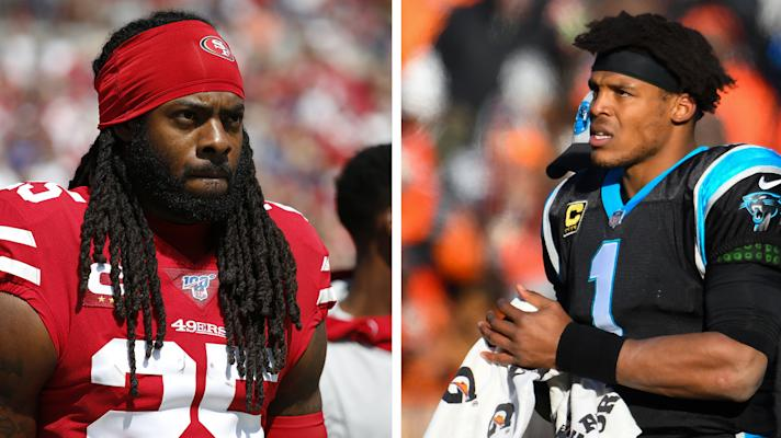 The Rush:Richard Sherman calls Cam Newton's deal with Patriots 'ridiculous'