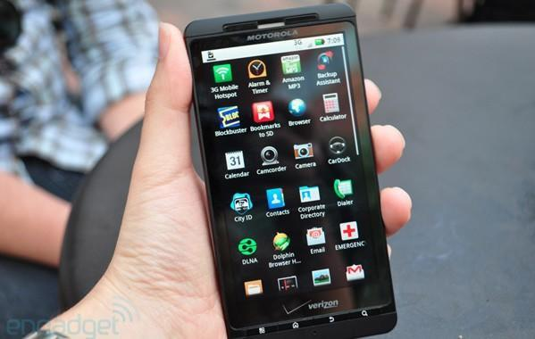 Droid X users gobbling up 5x the data of other Verizon smartphones