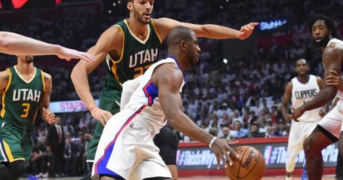 Basket - NBA - Utah Jazz élimine les Clippers de Los Angeles et affrontera les Golden State Warriors en demi-finale de conférence
