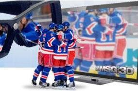 3D hockey nets positive reviews, biggest surprise of the night was a Rangers win