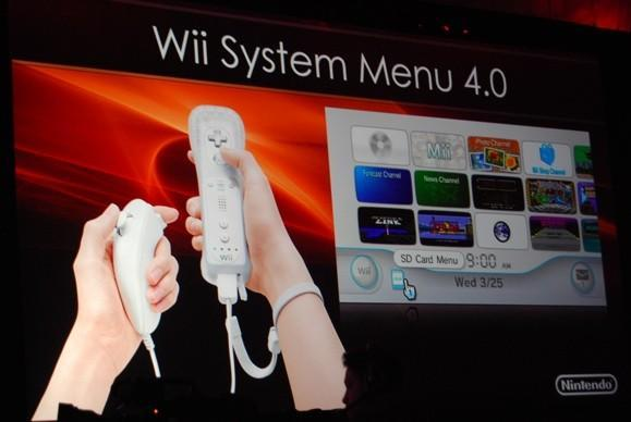 Nintendo launches Wii System Menu 4.0, including SD card WiiWare playback