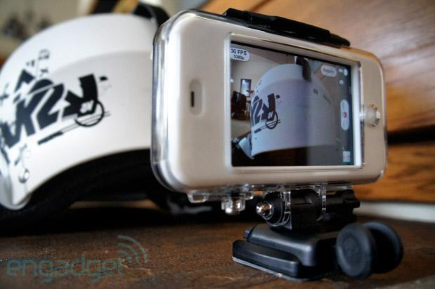 Mophie Outride review: action-cam case for iPhone can't replace dedicated shooters