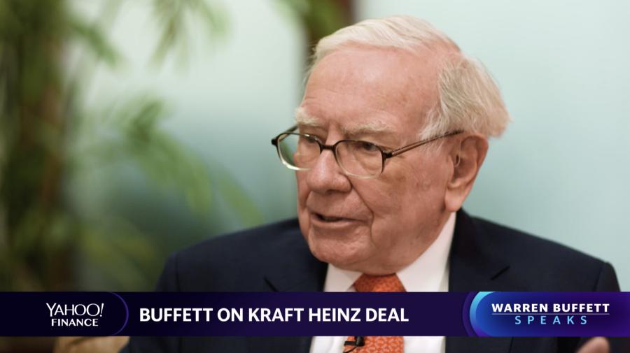Warren Buffett: We overpaid for Kraft, not Heinz