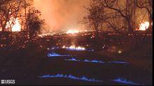Volcán de Hawai genera llamas azules por consumo de metano
