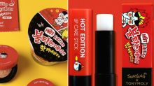 Tonymoly Collaborated With Samyang to Create a Spicy Ramen-Inspired Makeup Collection