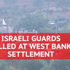 Palestinian Gunman Kills 3 At Jewish Settlement Near West Bank