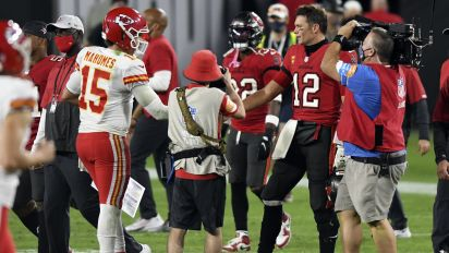 All Brady could do is watch as Mahomes rules NFL