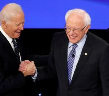 U.S. presidential hopefuls Sanders, Biden in tight race in early primary states