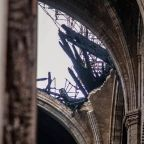 'Legendary' Notre-Dame roof astounded Middle Ages: carpenter