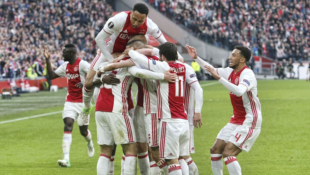 Ajax-Olympique Lione 4-1: I 'Lancieri' ipotecano la finale