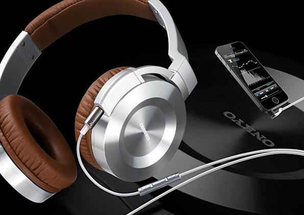 Onkyo's latest headphones add iOS controls to their posh copper cables