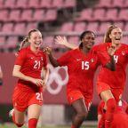 Canada beats U.S. in women's soccer semifinals