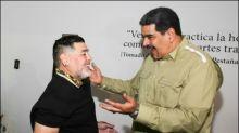 Diego Maradona zu Besuch bei Maduro