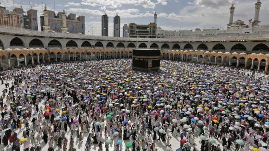 Acaba la peregrinación a La Meca sin casos de covid entre los 60.000 fieles