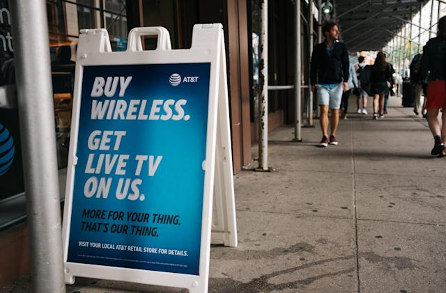 AT&T's latest unlimited plans include a new live TV service