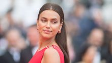 Irina Shayk Can't Be Wearing Undies With This