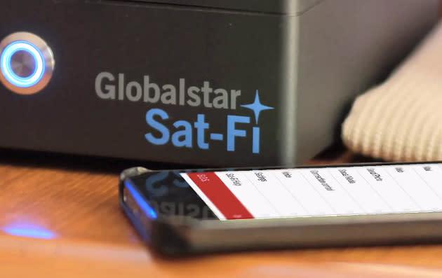 Globalstar Sat-Fi satellite hotspot available now for $999