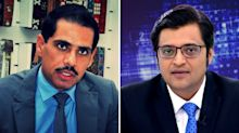 """""""Robert Is Scared"""": Arnab Goswami on Vadra's Legal Notice"""