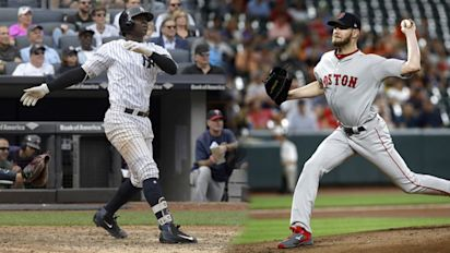 Red Sox, Yankees back in playoffs together
