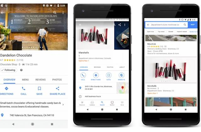 Google Maps' 'Follow' button gives you updates from real places