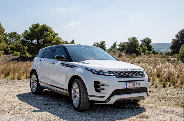 Land Rover's Evoque hides off-road tech behind a luxury SUV