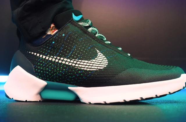 A first look at Nike's self-lacing HyperAdapt sneakers