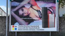 Bayerische Firma sorgt mit sexistischem Plakat für Aufregung