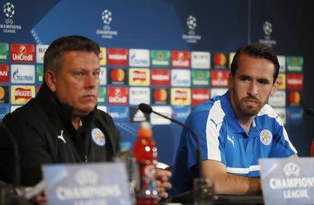 El Leicester no es favorito ante el Atlético, dice el defensa Fuchs