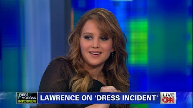 Jennifer Lawrence Gives the Play-by-Play of Her 'Wardrobe Malfunction'