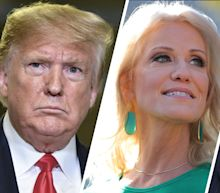 Trump says Kellyanne 'must have done some bad things' to George Conway